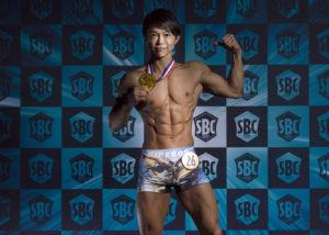 ボディコンテスト SBC 2019 TOKYO 01優勝者