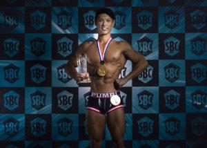 ボディコンテスト SBC 2019 YOKOHAMA 優勝者
